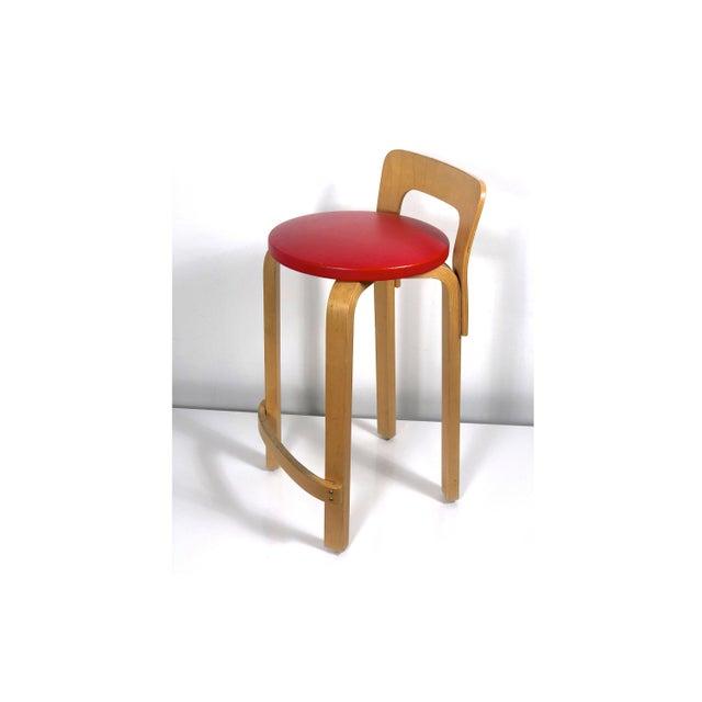 Alvar Aalto by Artek K65 Highback Chair Finland 1940's For Sale - Image 11 of 11
