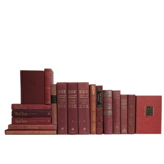 Vintage Rose Classics Book Set, S/18 For Sale