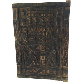 "Superb Dogon Door Mali African 23.75 ""H by 16.5"" W For Sale"