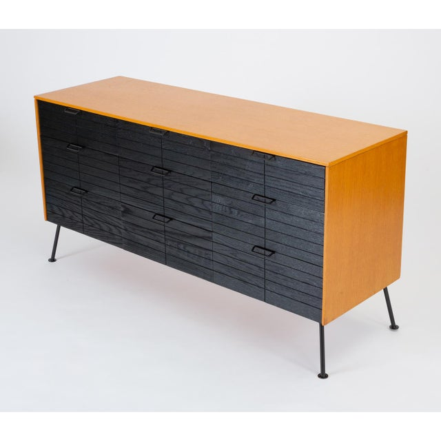 """Raymond Loewy's """"Accent"""" Line Nine-Drawer Dresser for the Mengel Company For Sale - Image 13 of 13"""