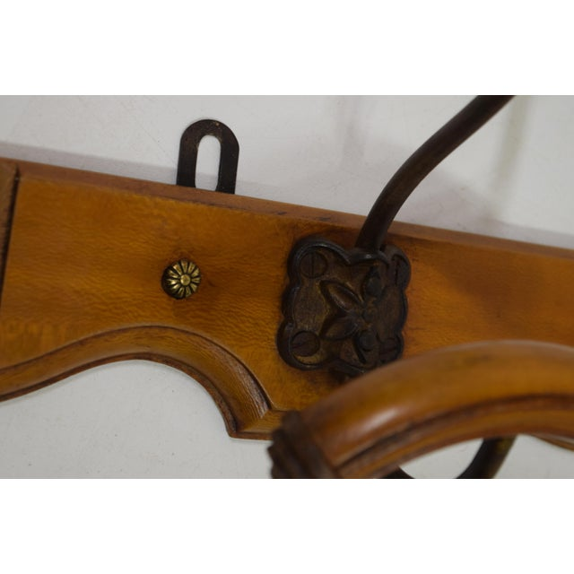 French Cherry Coat/Hat Rack - Image 5 of 8