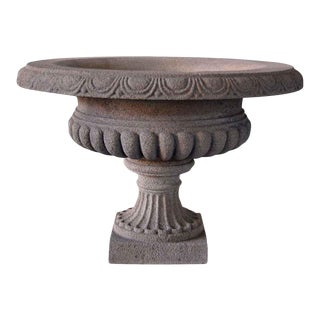 Stone Vase Planters - a Pair For Sale