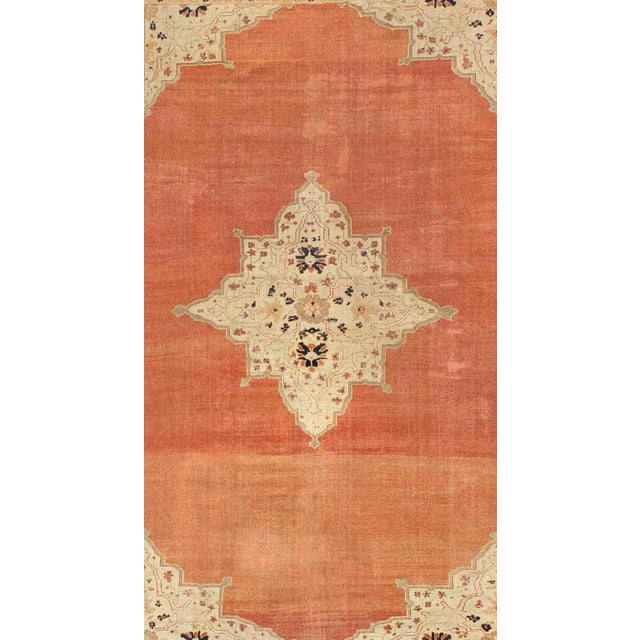 Persian Keivan Woven Arts, E-1207, Late 19th Century Antique Ziegler Sultanabad Rug - 10′2″ × 14′5″ For Sale - Image 3 of 10