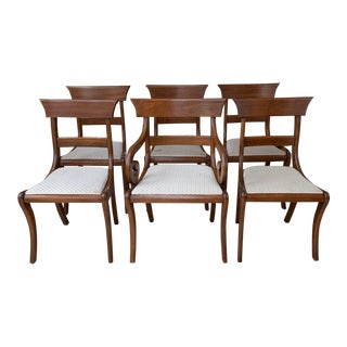 Mid Century Henkel Harris Dining Chairs - Set of 6 For Sale