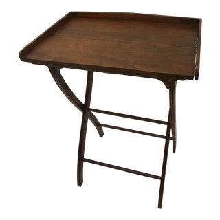 1940s Walnut Bar Tray For Sale