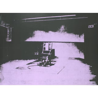 Andy Warhol_Electric Chair-Sunday B Morning_1971_ For Sale
