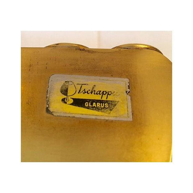 Tschappu Glarus Brass Bookends - a Pair - Image 7 of 7