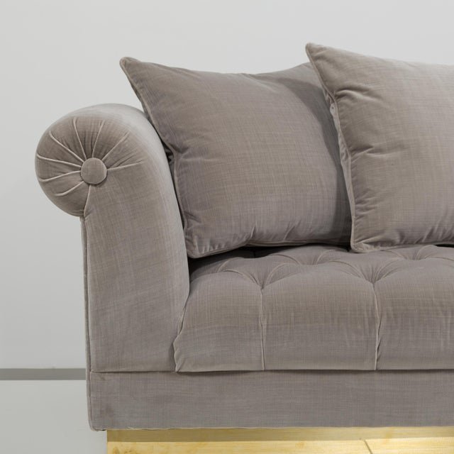 Customizable The Deep Buttoned Sofa by Talisman Bespoke For Sale - Image 11 of 11