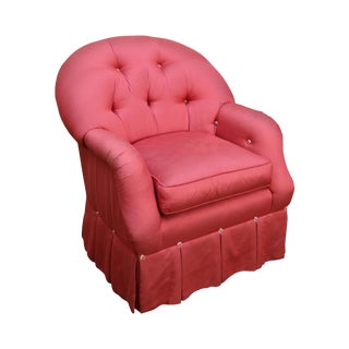 Ej Victor Barrel Back Tufted Upholstered Club Chair