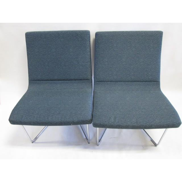 Selling these as a pair. Designed for offices, homes, hotels, and airport lounges, Harter Forum modular pieces allow any...