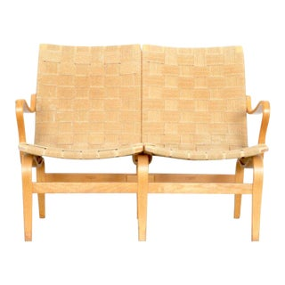 Bruno Mathsson Eva Settee, 1974 For Sale