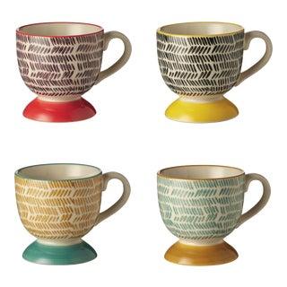 Herrinko Espresso Mugs in Multi - Set of 4
