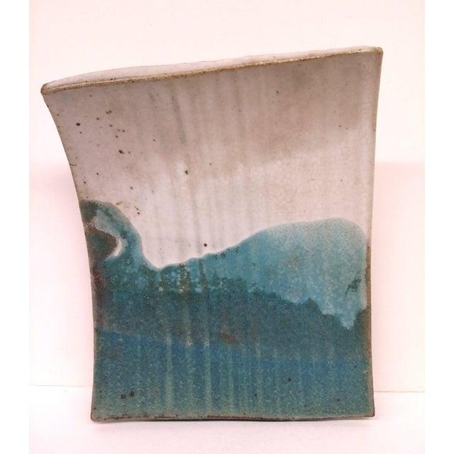 Mid-Century Artisan Ceramic Sushi Tray For Sale - Image 9 of 10