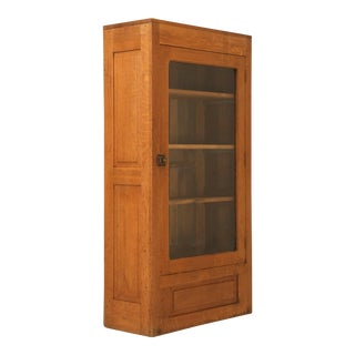 Antique American Bookcase For Sale