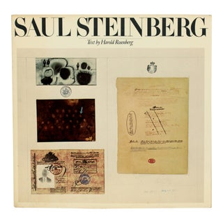 Saul Steinberg, First Edition For Sale
