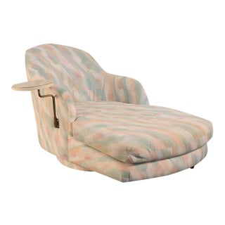 1980s Milo Baughman for Thayer Coggin Chaise For Sale