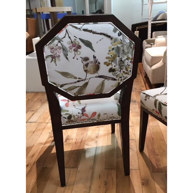 Traditional Mary McDonald for Chaddock Chantal Side Chairs - A Pair For Sale - Image 3 of 7