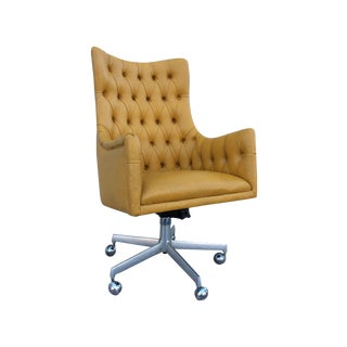 Shelby Williams Tufted Executive Desk Chair