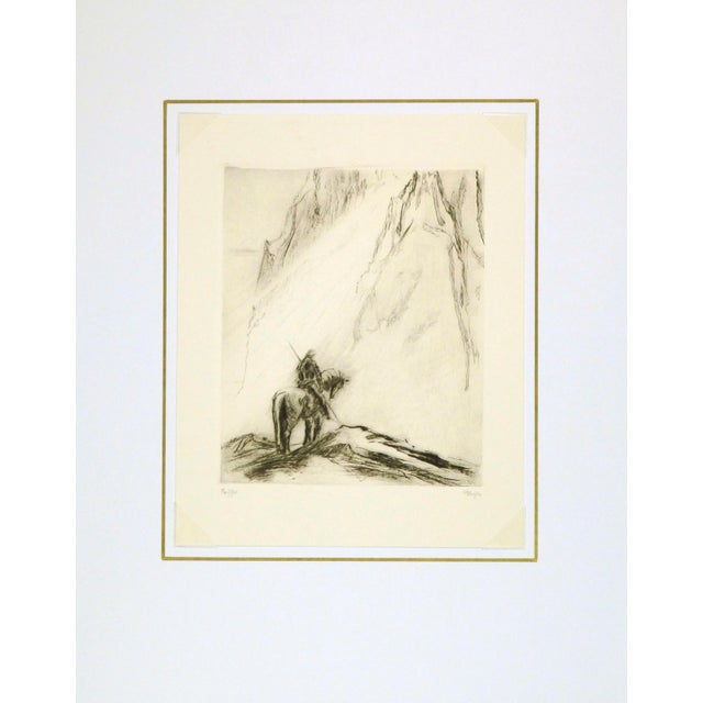 Modern Original Etching Parsifal For Sale - Image 3 of 4