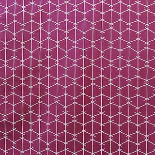 Amethyste Fabric Criss Cross Panel by Ferrick Mason For Sale