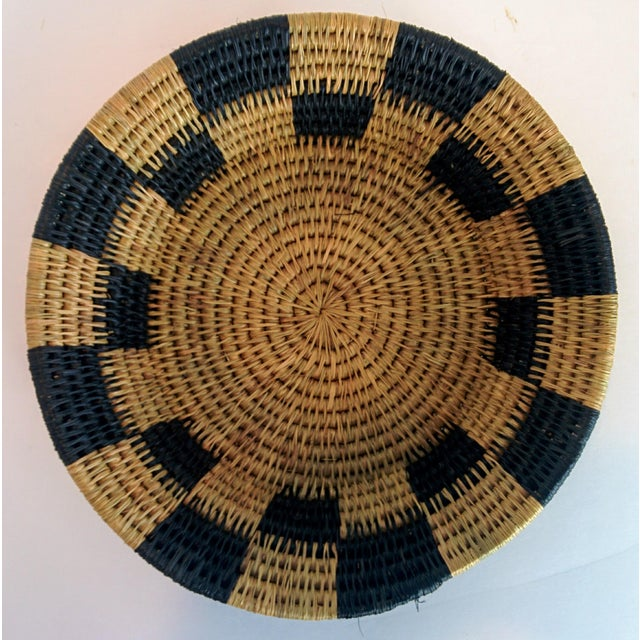 Handwoven African Catch All Boho Chic Basket - Image 5 of 8