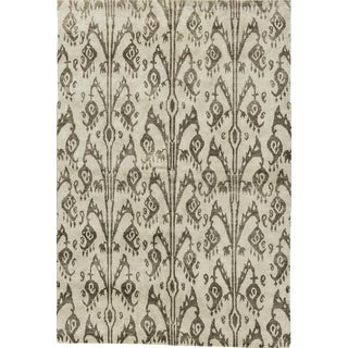 "Contemporary Hand Woven Rug - 6' x 8'10"" For Sale"