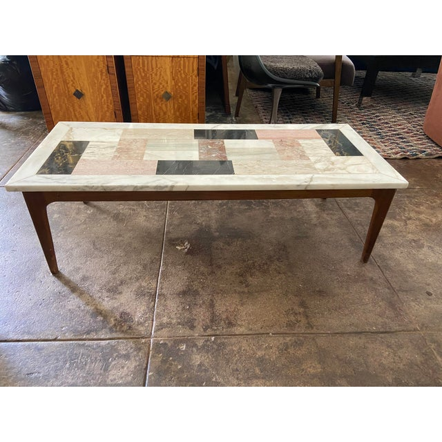 Italian Modern Pietra Dura Marble Specimen Coffee Table For Sale - Image 10 of 10