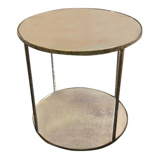 Oly Studio Jonathan Tall Mirrored Side Table