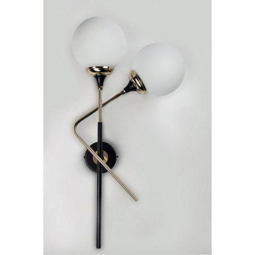 Stilnovo wall sconce series s5050 features a body in brass and blackened metal. Two lights with either right or left...