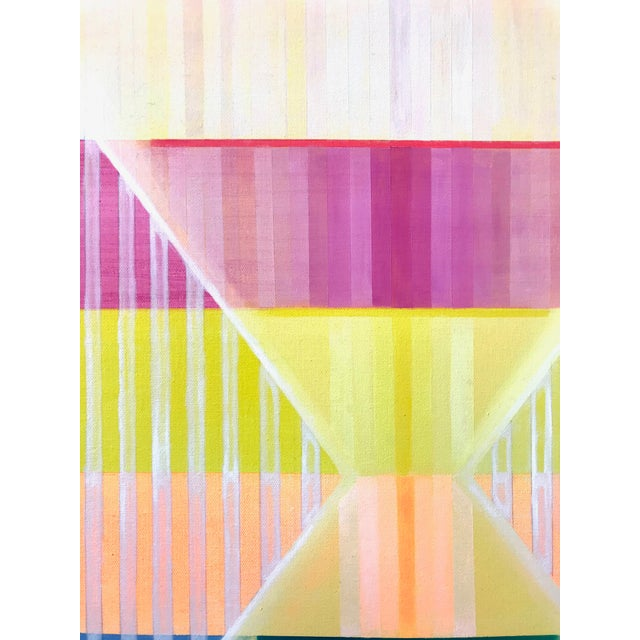 Contemporary Natasha Mistry Contemporary Mediative Oil Painting For Sale - Image 3 of 9