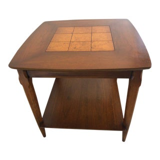 1960s Mid Century Modern Lane End Table For Sale