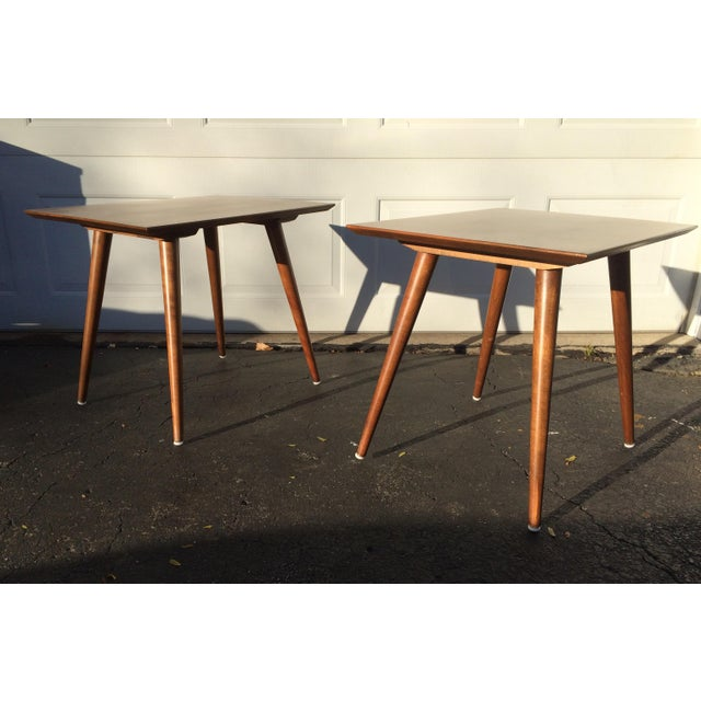 Paul McCobb Side Tables - A Pair - Image 2 of 10