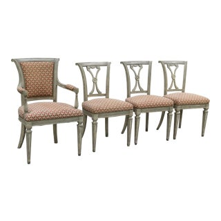 Swedish Neoclassical Chairs - Set of 4 For Sale