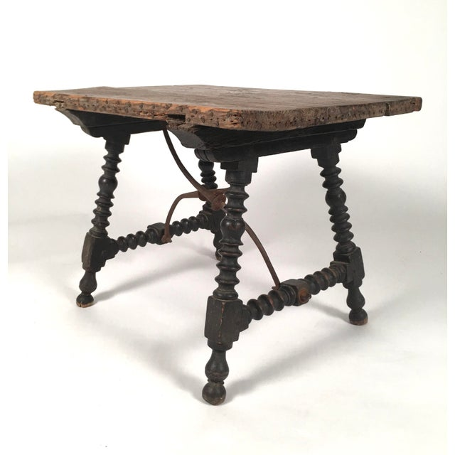 Spanish Baroque Style Side Table For Sale - Image 4 of 10