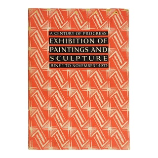 1933 Exhibition of Paintings and Sculpture Chicago Worlds Fair Book