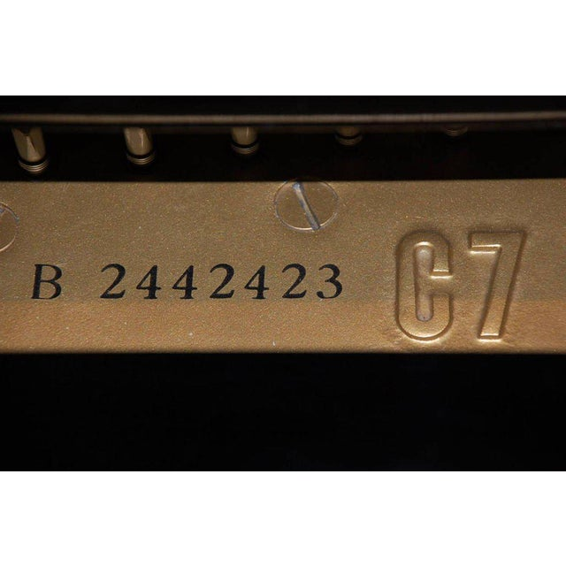 Iron Impeccable Yamaha C7 Concert Grand Piano For Sale - Image 7 of 10