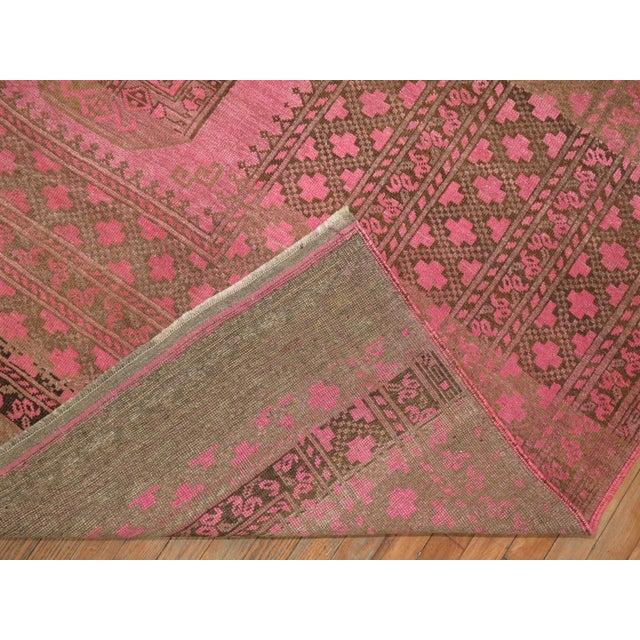 Wild Pink Vintage Tribal Rug, 10'10'' X 13'5'' For Sale - Image 10 of 11