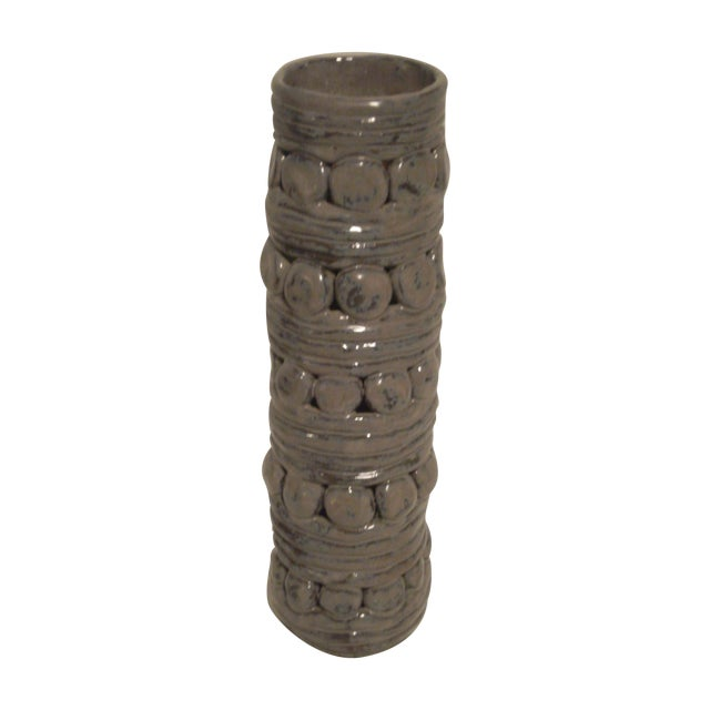 Mid-Century Pottery Vase - Image 1 of 6