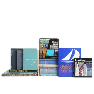Selection of Sailing Themed Books- Set of 16