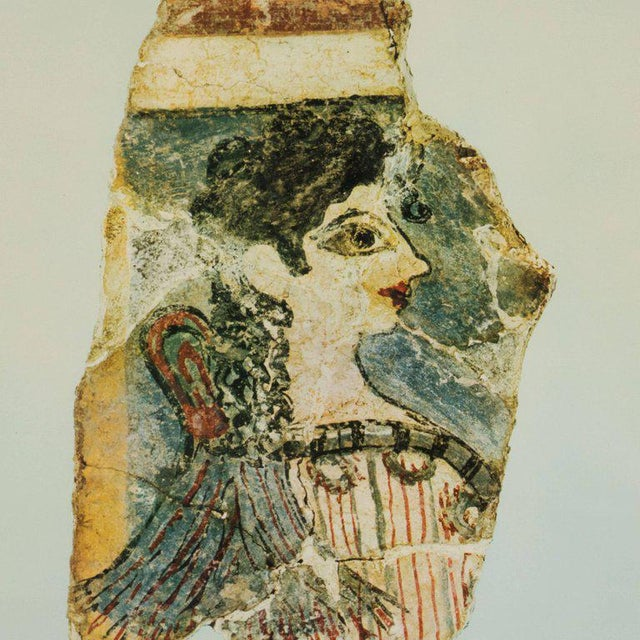 Paper Modernist Print of a Greek Antiquities Pottery Fragment in Custom Gallery Frame For Sale - Image 7 of 10