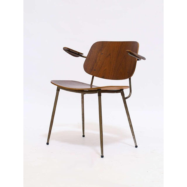 Armchair by Borge Mogensen For Sale - Image 5 of 10