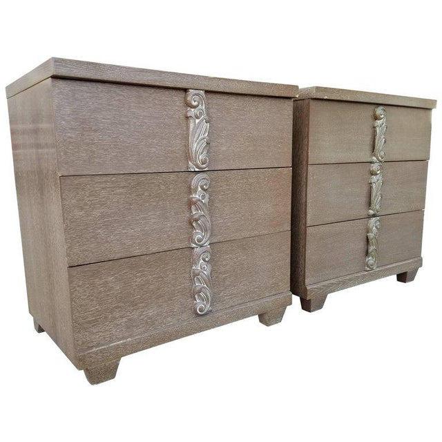 Albert Furniture Cerused Dressers - A Pair For Sale - Image 11 of 11