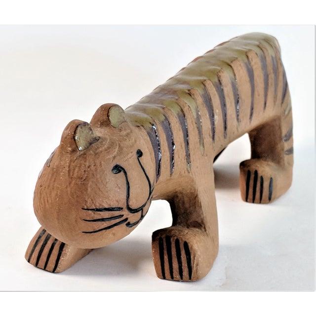 Ceramic Ceramic Tiger by Lisa Larson for Gustavsberg, 1970s For Sale - Image 7 of 13