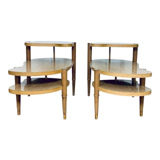 1950s Mid-Century Modern Side Tables - a Pair For Sale
