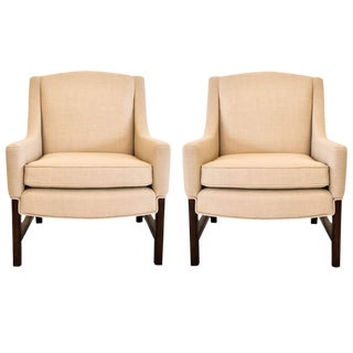 Lounge Chairs Attributed to Edward Wormley for Dunbar, 1950s