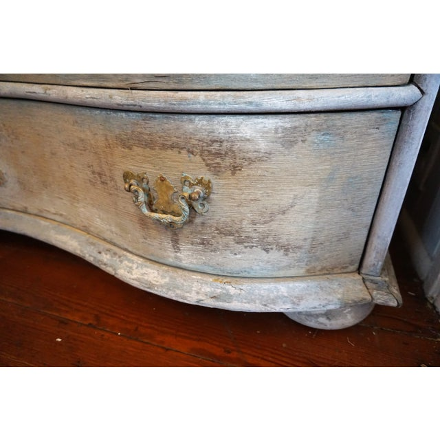 Swedish Gustavian Painted Secretaire For Sale - Image 10 of 12