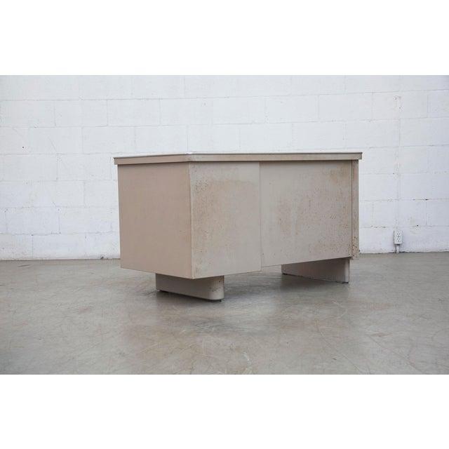 Industrial Metal Mini Tank Desk - Image 4 of 10
