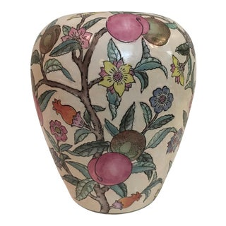 Chinese Peach Tree Floral Vase