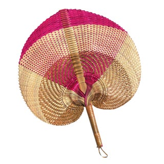"Balinese Woven Hand Fan ""Aphrodite"""