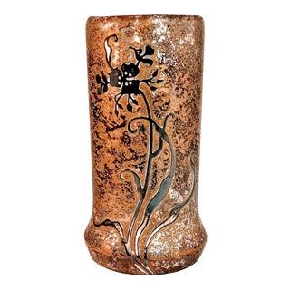 Vintage Heintz Art Metal Vase For Sale